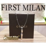 GUCCI Necklace Silver For Mens