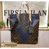 LOUIS VUITTON Monogram Cabas Two-way Tote Bag