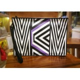MCM x TOBIAS REHBERGER Printed Leather Pouch Limited Edition
