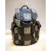 LOUIS VUITTON Damier Graphite Christopher Nemeth Backpack