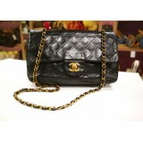 CHANEL Lambskin Medium Vintage Flap Bag