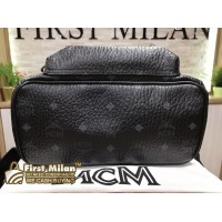 MCM Small Black Backpack