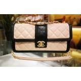 CHANEL Two-tone Flap Bag In Lambskin