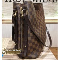 LOUIS VUITTON Damier Ebene Canvas Rivington Bag