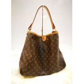 LOUIS VUITTON Monogram Canvas Delightful MM