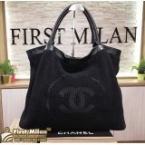 CHANEL Vintage Large Tote Bag