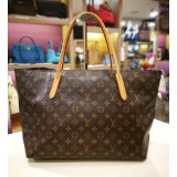 LOUIS VUITTON Monogram Canvas Raspail Large Tote Bag