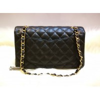 CHANEL Caviar Small Classic Double Flap GHW