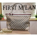 GUCCI Mayfair Bow Detail Medium Tote Bag
