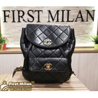 CHANEL Lambskin Vintage Mini Backpack GHW