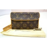 LOUIS VUITTON Monogram Canvas Florentine Pochette