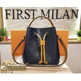 LOUIS VUITTON Epi Leather Indigo Safran Neonoe BB