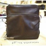 LOUIS VUITTON Bequia Leather Trotter GM