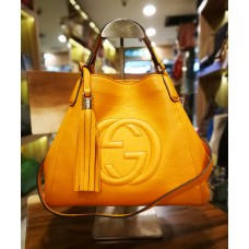 GUCCI Soho Two-way Leather Bag