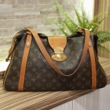 LOUIS VUITTON Monogram Stresa GM Shoulder Bag