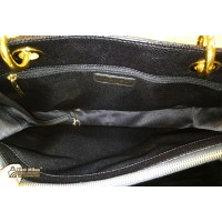 CHANEL Caviar Grand Shopping Tote With GHW