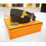 HERMES H Belt Buckle & Reversible Leather Strap 38mm