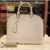 LOUIS VUITTON Epi Leather Alma PM