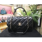 CHANEL Lambskin Medium Trendy CC Flap