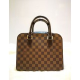 LOUIS VUITTON Damier Ebene Triana Handbag