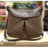 LOUIS VUITTON Damier Ebene Bloomsbury Crossbody Bag