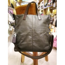 COACH Thompson Black Pebble Leather Tote Bag