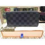LOUIS VUITTON Damier Graphite Zippy Wallet Vertical