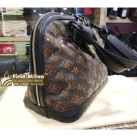 LOUIS VUITTON Limited Edition Amber Monogram Eclipse Alma
