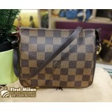 LOUIS VUITTON Damier Ebene Trousse Makeup Pouch