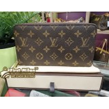 LOUIS VUITTON Monogram Canvas Zippy Organizer