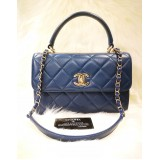 CHANEL Lambskin Small Trendy CC