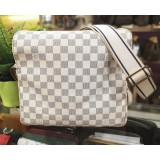 LOUIS VUITTON Damier Azur Naviglio Messenger Bag