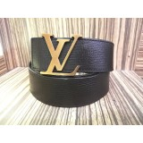 LOUIS VUITTON Initial Belt Utah Leather (Size:90/36)