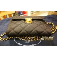 PRADA Tessuto Nylon Impuntu Pattina Sling Bag