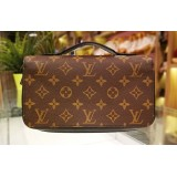 LOUIS VUITTON Monogram Macassar Zippy XL Wallet