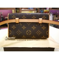 LOUIS VUITTON Monogram Pochette Florentine Waist Bag