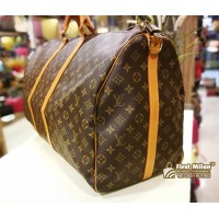 LOUIS VUITTON Monogram Keepall Bandouliere 60 (Without Strap)