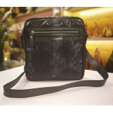 GUCCI Black GG Imprime Messenger Bag