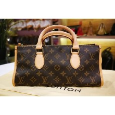 LOUIS VUITTON Monogram Canvas Popincourt Handbag