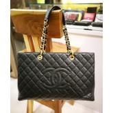 CHANEL Caviar GST XL With GHW