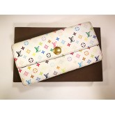 LOUIS VUITTON Monogram Multicolore Sarah Wallet