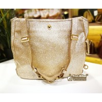 YSL Besace Tote Volcano Gold