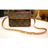LOUIS VUITTON Monogram Canvas Florentine Waist Bag