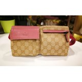 GUCCI GG Canvas Monogram Waist Belt Bag