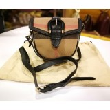BURBERRY Mini House Check Crossbody Bag