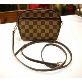 LOUIS VUITTON Damier Ebene Pochette Ipanema PM