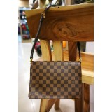 LOUIS VUITTON Damier Ebene Musette Tango Shoulder Bag