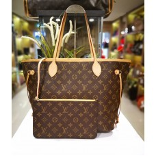 LOUIS VUITTON Monogram Neverfull MM Mimosa
