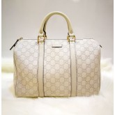 GUCCI GG Guccissima Leather Boston Tote