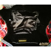 PRADA Drawstring Velvet Bag